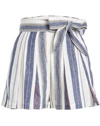 Three Graces London - Kilman Cotton Shorts - Lyst