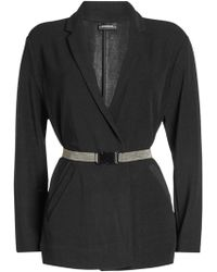 By Malene Birger - Belted Jacket - Lyst