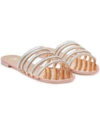 Giuseppe Zanotti - Embellished Patent Leather Sandals - Lyst