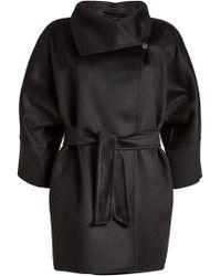 Max Mara - Belted Wool Jacket - Lyst