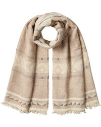 Polo Ralph Lauren | Scarf With Cotton And Virgin Wool | Lyst