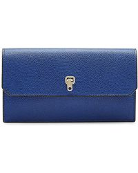 Valextra - Leather Wallet - Lyst