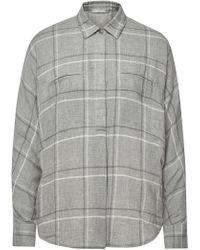 Vince - Plaid Shirt With Cotton - Lyst
