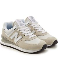 New Balance - Wl574b Sneakers With Suede And Mesh - Lyst