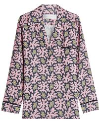 Victoria, Victoria Beckham - Printed Pyjama Shirt - Lyst