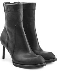 Haider Ackermann | Leather Boots With Stiletto Heels | Lyst