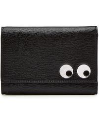 Anya Hindmarch - Eyes Trifold Leather Wallet - Lyst