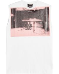CALVIN KLEIN 205W39NYC - X Andy Warhol Printed Cotton Tank - Lyst