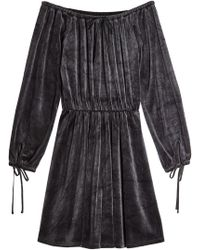 Juicy Couture - Velour Dress - Lyst