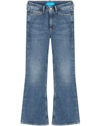 M.i.h Jeans - Marty Cropped Flare Jeans - Lyst