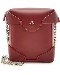 MANU Atelier - Micro Pristine Leather Shoulder Bag - Lyst