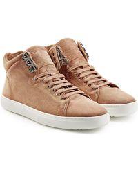 Rag & Bone - Kent High-top Suede Sneakers - Lyst