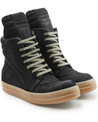 Rick Owens - Suede Boots - Lyst