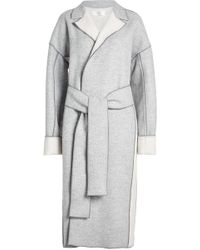 Victoria, Victoria Beckham | Wool-cashmere Coat With Belt | Lyst