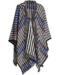 Missoni - Fringed Wool Cape With Cashmere - Lyst