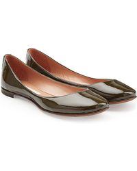 L'Autre Chose - Patent Leather Ballerinas - Lyst