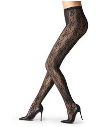 Fogal - Lace Tights - Lyst