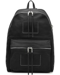 Rick Owens - Mega Fabric Backpack With Leather - Lyst