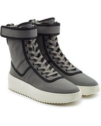 Fear Of God - Lace-up Boots With Velcro Strap - Lyst