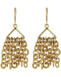 Pippa Small - Gold Plated Silver Earrings - Lyst