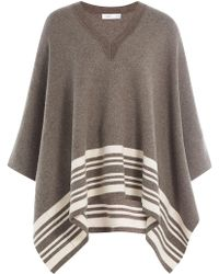 Vince - Wool-cashmere Cape - Lyst