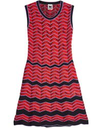 M Missoni - Sleeveless Knit Dress - Lyst