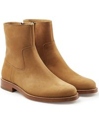 A.P.C. | Derrick Suede Ankle Boots | Lyst