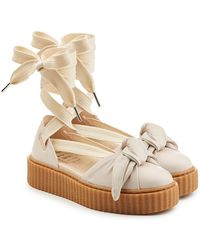 PUMA - Leather Creepers With Laces - Lyst