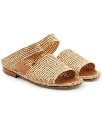 Carrie Forbes - Ahmed Raffia Sandals - Lyst