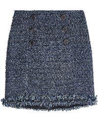 Karl Lagerfeld | Boucle Skirt | Lyst