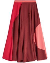 ROKSANDA - Color Block Skirt - Lyst