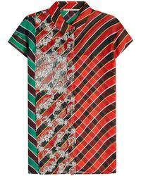 Marco De Vincenzo - Printed Silk Shirt - Lyst