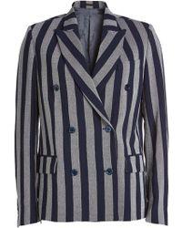 Golden Goose Deluxe Brand - Misam Fleece Wool Blazer - Lyst