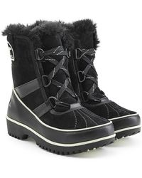 Sorel - Tivoli Ii Suede And Rubber Short Boots - Lyst