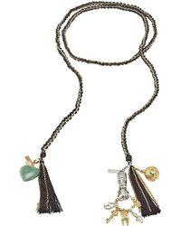 Missoni - Woven Chain Tassel Bracelet - Lyst
