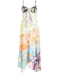 Peter Pilotto - Printed Crepe Dress - Lyst