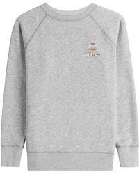 Étoile Isabel Marant - Cotton Sweatshirt - Grey - Lyst