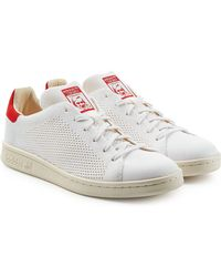 adidas Originals - Stan Smith Perforated Sneakers - Lyst