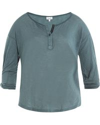 Splendid - Jersey Top With Cotton - Lyst