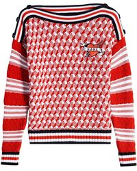 Karl Lagerfeld - Karl Sails Cotton Pullover - Lyst