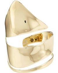 Alexis Bittar - 10kt Gold Ring - Lyst