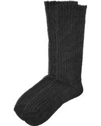 Etro   Ribbed Knit Socks   Lyst
