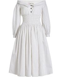 Sandy Liang - Marge Cotton Dress - Lyst