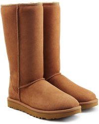 UGG - Classic Ii Tall Suede Boots - Lyst