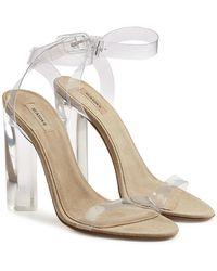 Yeezy | Transparent Sandals | Lyst