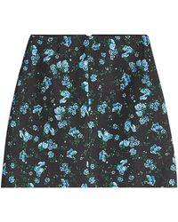 Emilia Wickstead | Printed Wool Skirt | Lyst
