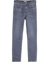 Citizens of Humanity - Jeans Rocket Crop High Rise Skinny - Lyst
