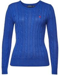 Polo Ralph Lauren - Julianna Cotton Pullover - Lyst
