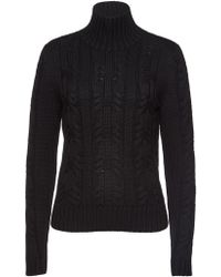 HUGO - Salini Virgin Wool Turtleneck Pullover - Lyst