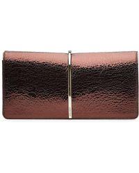 Nina Ricci - Textured Leather Clutch - Lyst